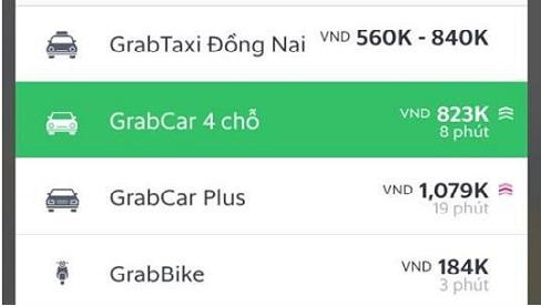 Nhiều tài xế Uber, Grab