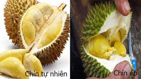 Cách phân biệt hoa quả chín tự nhiên và hoa quả thúc chín bằng hóa chất