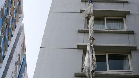 Người mua căn hộ chán nản sau vụ cháy chung cư Carina