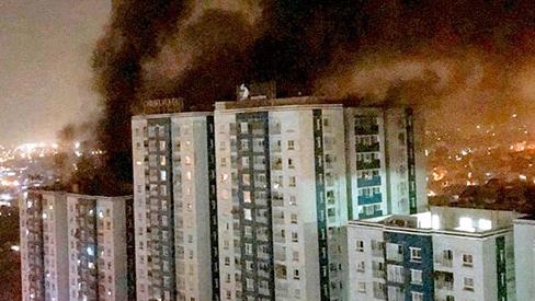 Phải quy định cụ thể trách nhiệm chủ đầu tư trong cháy nổ chung cư