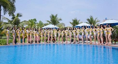Bật mí thời trang bikini tại Hoa hậu Biển Việt Nam Toàn cầu 2018