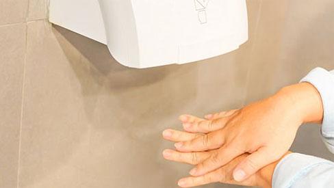 Máy sấy tay trong nhà vệ sinh công cộng: Cảnh báo đáng sợ