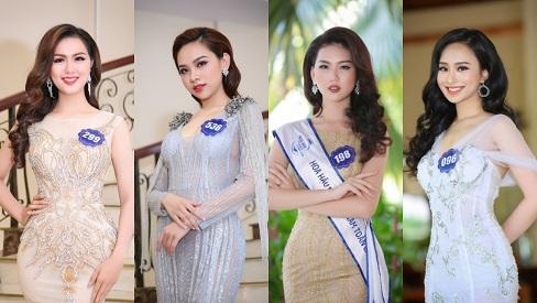 Thí sinh Hoa hậu Biển Việt Nam toàn cầu 2018 đẹp từng centimet trong váy dạ hội, đập tan tin đồn kém sắc