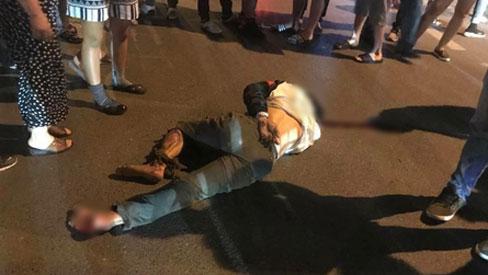 Nhẫn tâm kéo lê nạn nhân hàng trăm mét trên đường sau va chạm, tài xế xe bán tải bị người dân đuổi đánh trong đêm