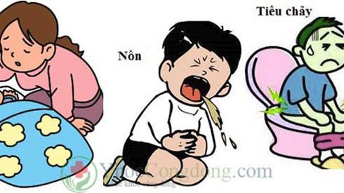 Phòng ngừa bệnh tiêu chảy cấp ở trẻ em mùa nắng nóng