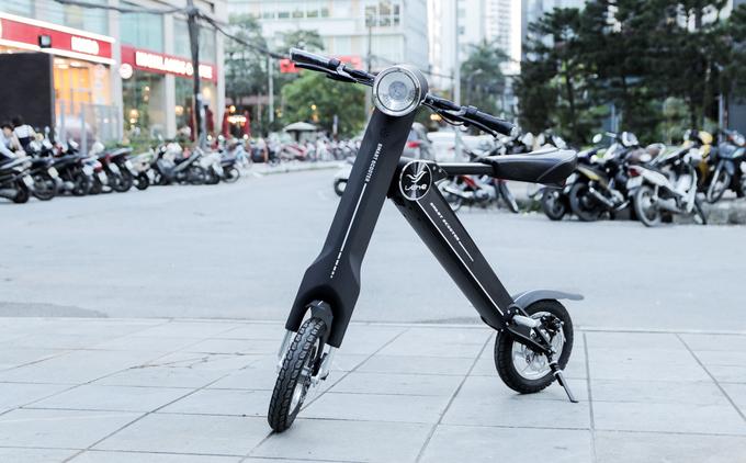 Xe điện gấp lạ mắt giá 15 triệu tại Việt Nam