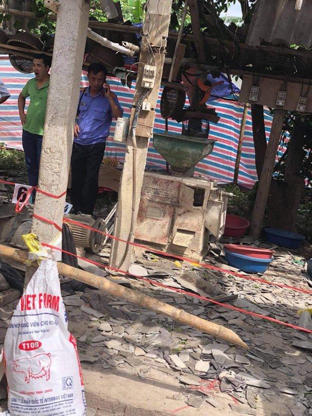 Máy xay xát bất ngờ phát nổ, chủ nhà và khách tử vong-1