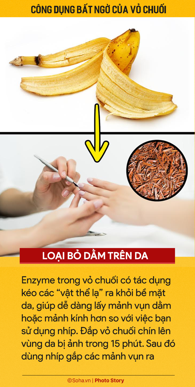 Ăn chuối hàng ngày nhưng ít người biết 7 công dụng từ vỏ chuối: Nhớ đừng vứt vào thùng rác-3