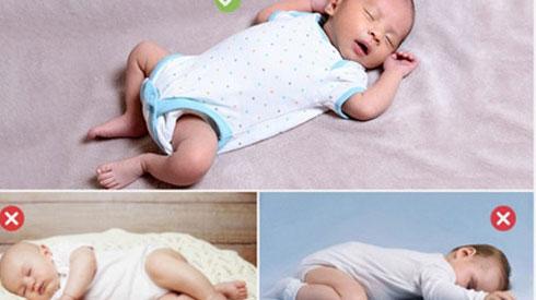 Để con ngủ ở tư thế này, đừng hỏi vì sao bé còi xương, suy dinh dưỡng