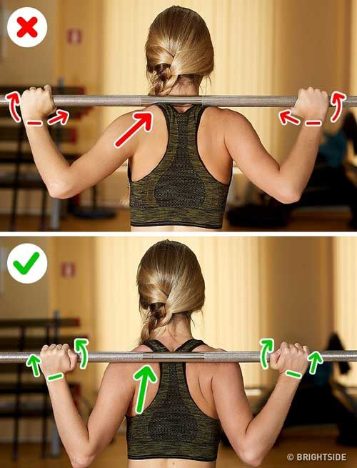 6 sai lầm chị em thường mắc phải khi tự tập gym-1