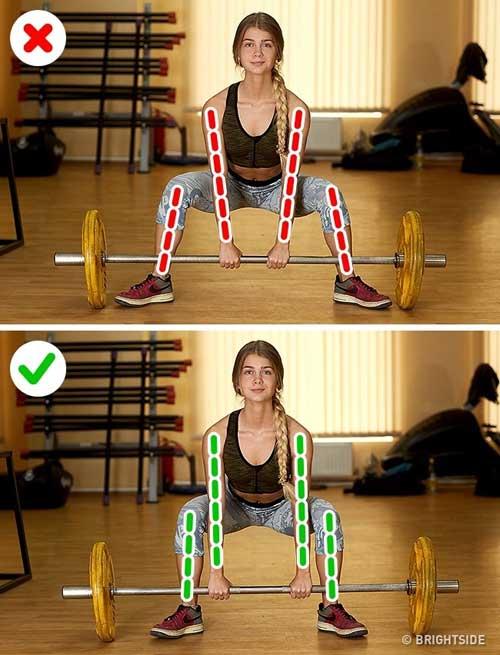 6 sai lầm chị em thường mắc phải khi tự tập gym-2