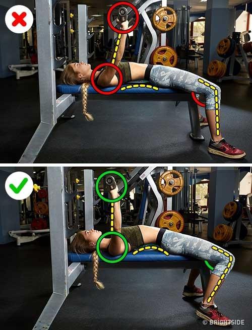 6 sai lầm chị em thường mắc phải khi tự tập gym-4