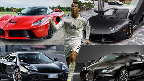 'Soi' dàn siêu xe khủng của sao World cup 2018 - Cristiano Ronaldo