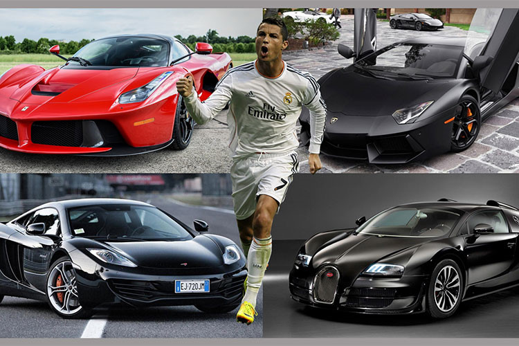 Soi dàn siêu xe khủng của sao World cup 2018 - Cristiano Ronaldo-1