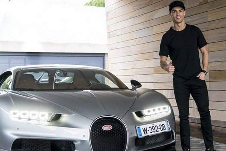 Soi dàn siêu xe khủng của sao World cup 2018 - Cristiano Ronaldo-2