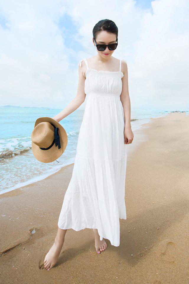 4 điều cần ghi nhớ khi chọn váy maxi đi biển cho nàng nấm lùn-7