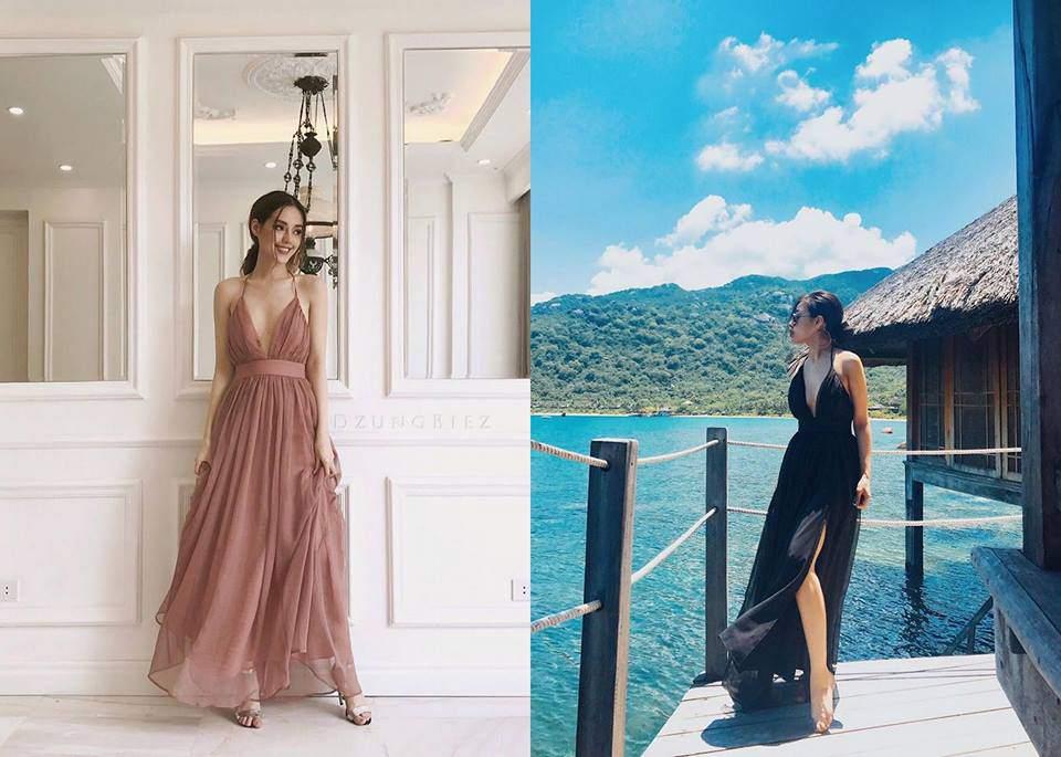 4 điều cần ghi nhớ khi chọn váy maxi đi biển cho nàng nấm lùn-8