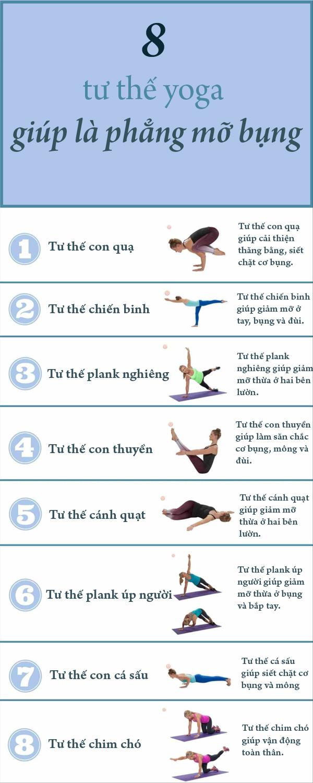 8 tư thế yoga giúp là phẳng mỡ bụng-1