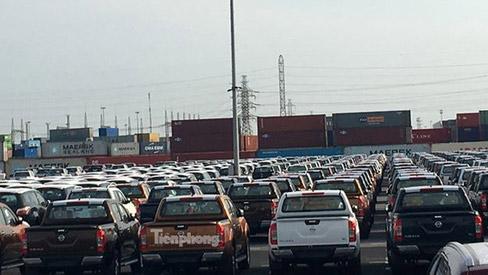 Ô tô miễn thuế đổ bộ về Việt Nam, tập kết kín cảng chờ lăn bánh, giá sẽ  giảm sâu, chưa đầy 100 triệu