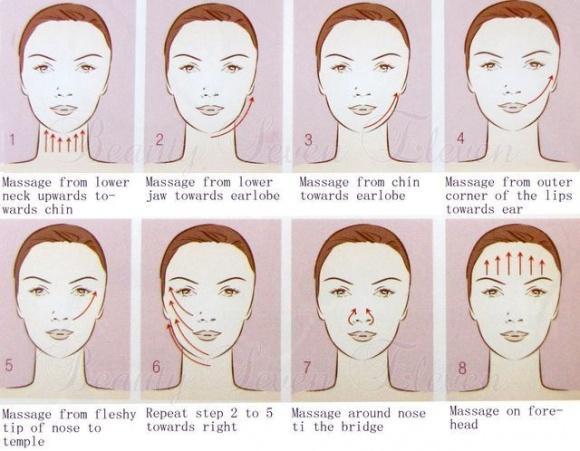 Hướng dẫn chi tiết từng bước massage mặt tại nhà chuẩn spa, da căng bóng, trắng hồng-3