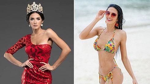 Vẻ đẹp bốc lửa của tân Hoa hậu Hòa bình Quốc tế
