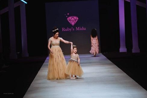 Thương hiệu Ruby Midu tạo điểm nhấn  trong chương trình Viet nam internationl fashion week.