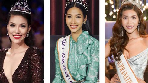 Minh Tú - Lan Khuê - Hoàng Thùy: Bộ ba mỹ nhân sinh năm 1992