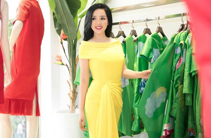 Người đẹp Việt mê mẩn váy xoắn eo-3
