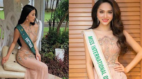Đăng quang Hoa hậu tại 2 cuộc thi nhan sắc Quốc tế, style Phương Khánh và Hương Giang có khá nhiều điểm chung thú vị