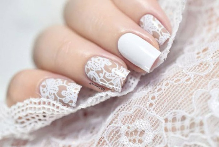 Những mẫu nail cô dâu đẹp nhất các nàng không thể bỏ qua cho ngày vui được hoàn hảo!-5