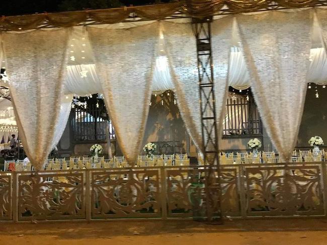 Xôn xao rạp cưới khủng được trang hoàng lộng lẫy trị giá hơn 800 triệu, dùng 100% hoa tươi ở Vĩnh Phúc-3