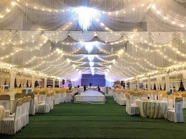 Xôn xao rạp cưới khủng được trang hoàng lộng lẫy trị giá hơn 800 triệu, dùng 100% hoa tươi ở Vĩnh Phúc-5