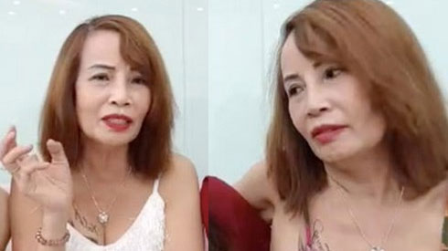 Livestream thay đến 4 bộ váy mát mẻ thể hiện độ chịu chơi, cô dâu 62 tuổi bị chỉ trích 'quá lố'