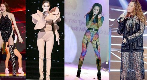 Mặc đồ diêm dúa, cũn cỡn, biểu tượng thời trang Hà Hồ cũng có lúc như