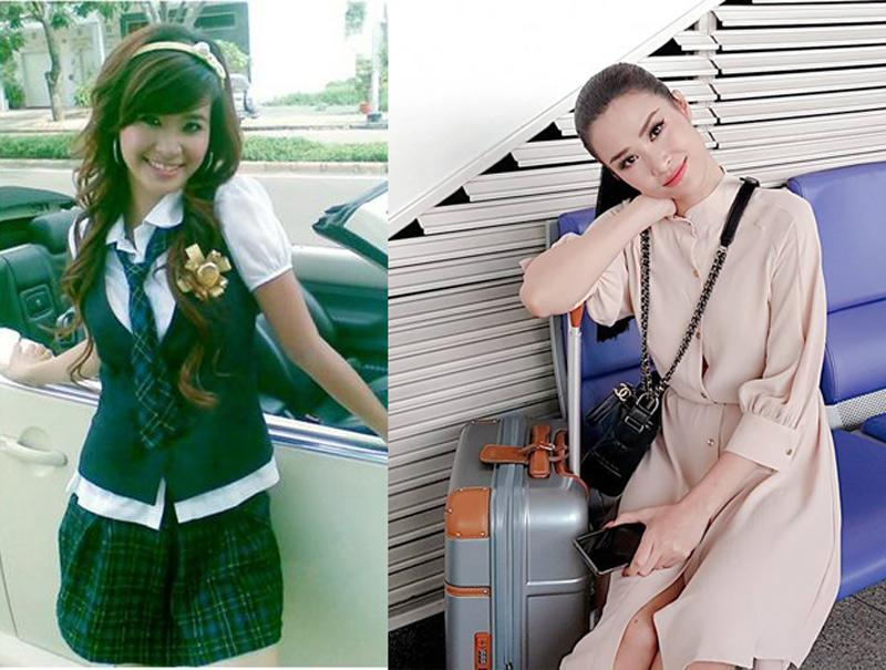 Phong cách sao Việt thời học sinh và bây giờ: Angela Phương Trinh khiến ai cũng ngỡ ngàng-6