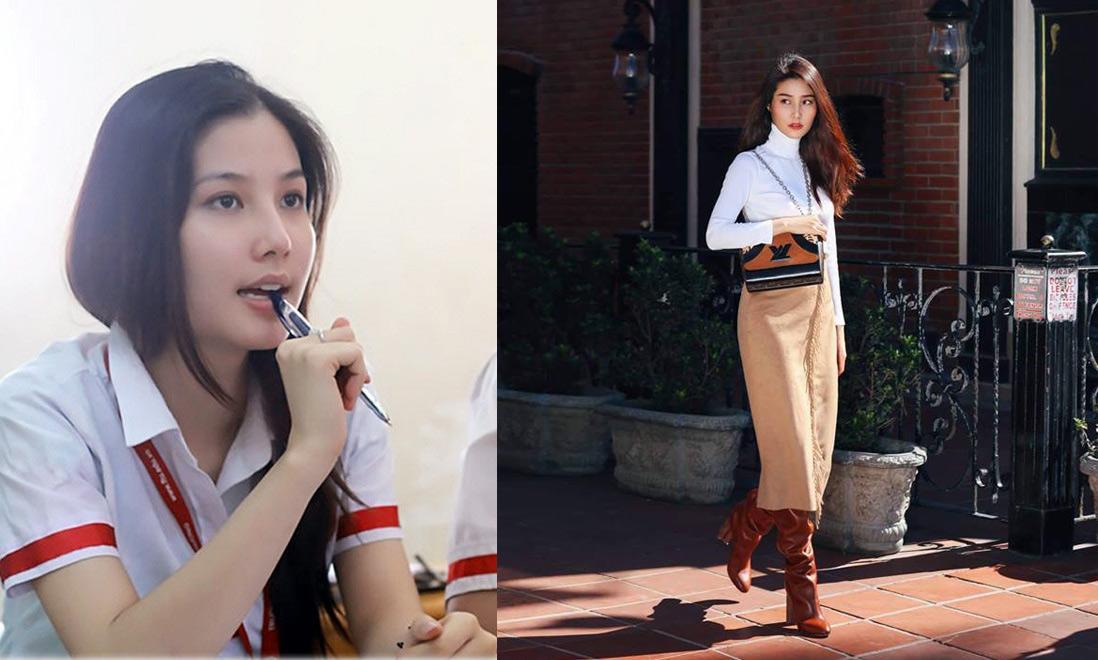 Phong cách sao Việt thời học sinh và bây giờ: Angela Phương Trinh khiến ai cũng ngỡ ngàng-2