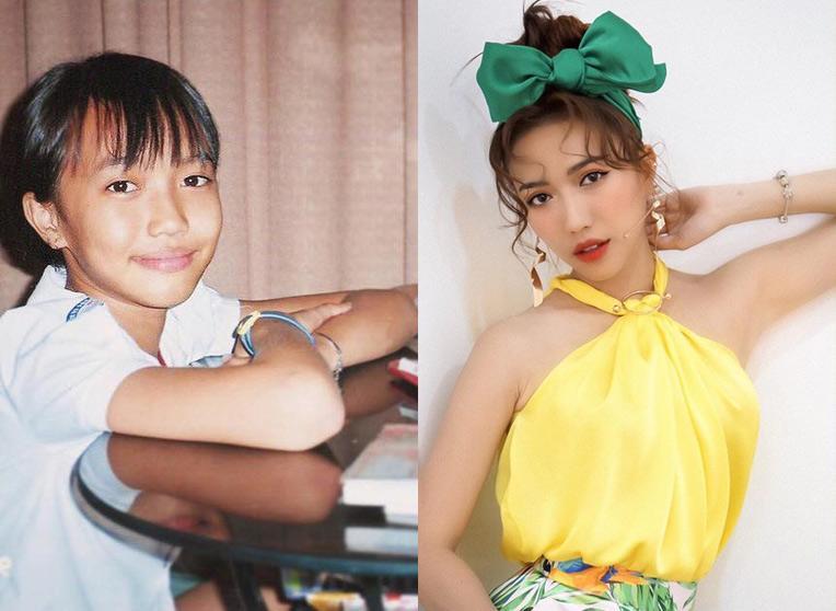 Phong cách sao Việt thời học sinh và bây giờ: Angela Phương Trinh khiến ai cũng ngỡ ngàng-7