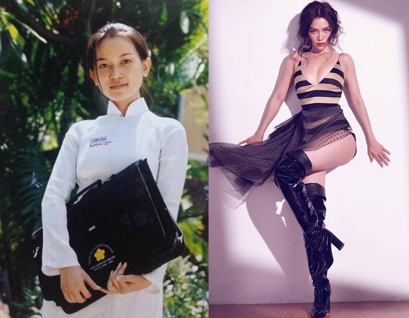 Phong cách sao Việt thời học sinh và bây giờ: Angela Phương Trinh khiến ai cũng ngỡ ngàng-8