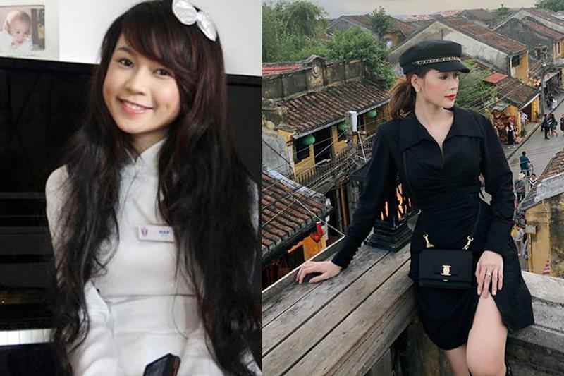Phong cách sao Việt thời học sinh và bây giờ: Angela Phương Trinh khiến ai cũng ngỡ ngàng-9
