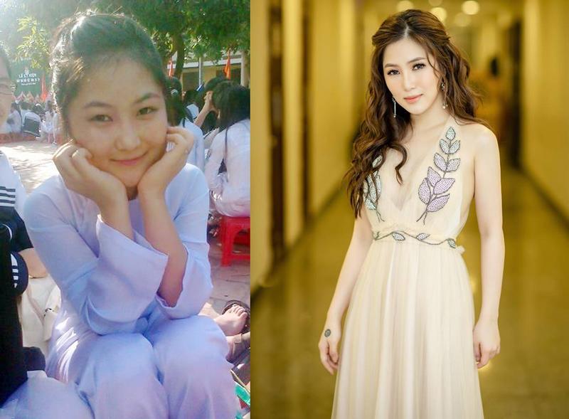 Phong cách sao Việt thời học sinh và bây giờ: Angela Phương Trinh khiến ai cũng ngỡ ngàng-10