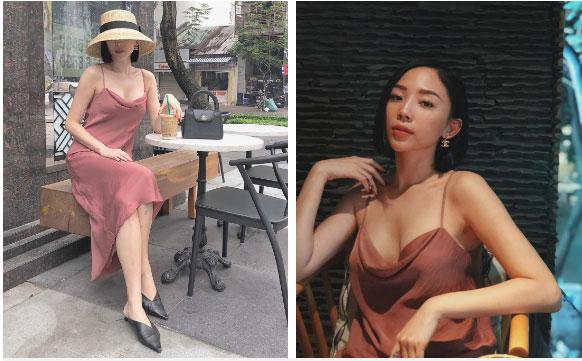"""Khi sao nữ Việt cùng diện đầm trễ nải: Người sexy ná thở"""", người lộ ngay thân hình gầy đét-2"""