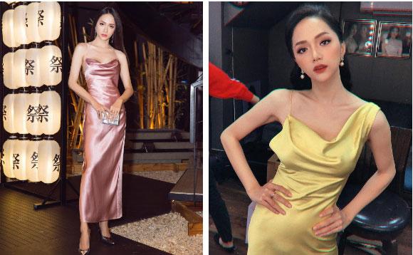 """Khi sao nữ Việt cùng diện đầm trễ nải: Người sexy ná thở"""", người lộ ngay thân hình gầy đét-4"""