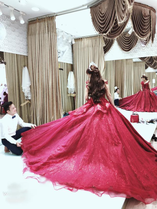 Cô dâu 62 tuổi khoe ảnh cưới lần 2 sau 2 tháng kết hôn, hạnh phúc khi chồng gọi là công chúa xinh đẹp-5
