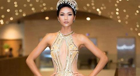 Hé lộ trang phục dạ hội lộng lẫy của H'Hen Niê tại Hoa hậu Hoàn vũ 2018