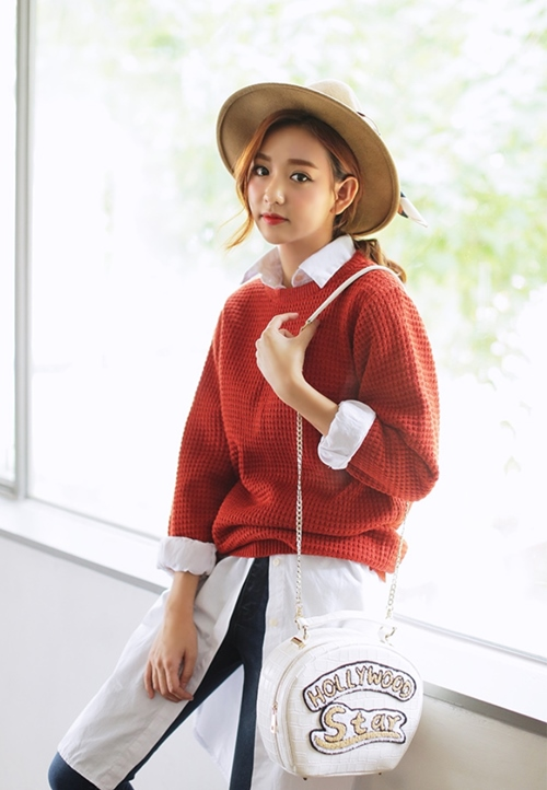 5 cách phối layer với áo len để vừa đủ giữ ấm vừa  đẹp-3