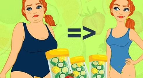 Cách làm nước detox giảm cân, tiêu mỡ nhanh chóng để tự tin đón Tết