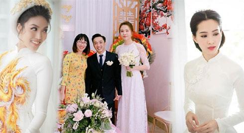 Không phải xanh hay đỏ, trắng mới là gam màu được nhiều mỹ nhân lựa chọn trong ngày cưới