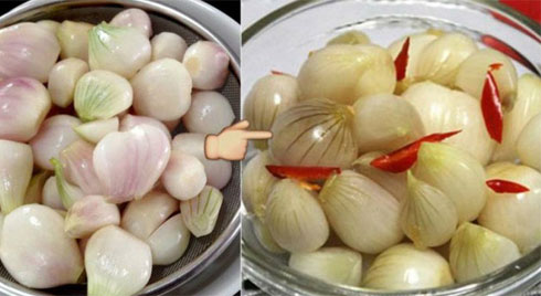 Bí quyết muối hành chua giòn, không nổi váng cực ngon đón Tết