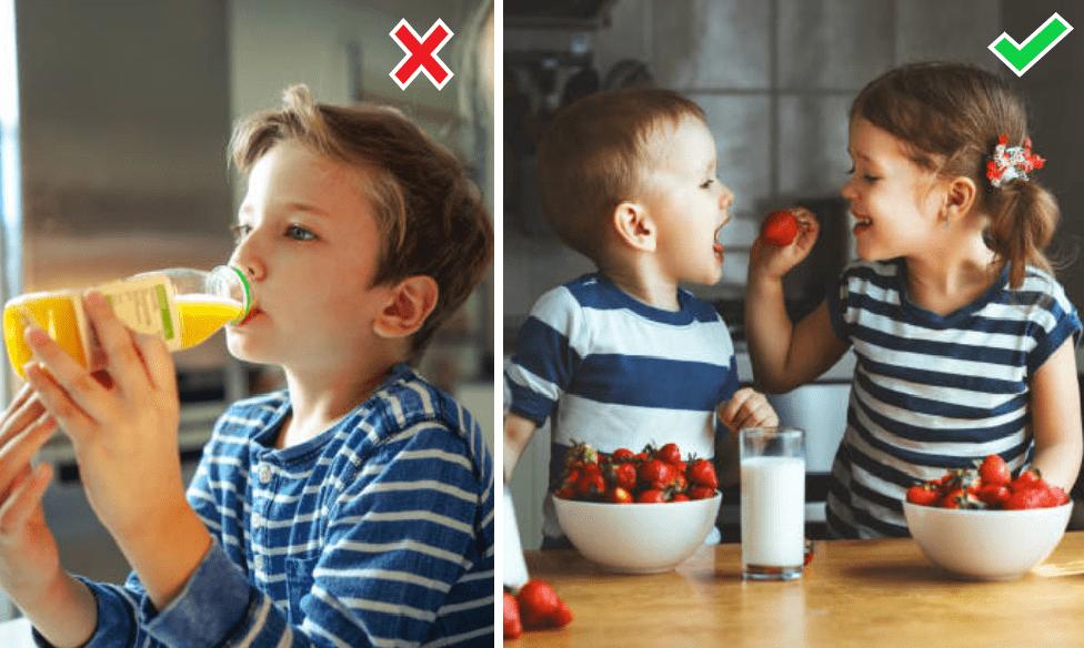 Những loại thực phẩm không tốt mà bố mẹ thường cho trẻ ăn-1