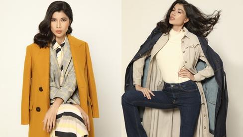 Siêu mẫu Trang Lạ gợi ý mix áo khoác cho cô nàng văn phòng